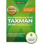 TAXMAN 2019 Rentner & Pensionäre (für Steuerjahr 2018) (Download für Windows)