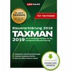TAXMAN 2019 für Vermieter (für Steuerjahr 2018) (Download für Windows)