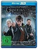 Grindelwalds Verbrechen / Phantastische Tierwesen Bd.2 (3D, 1 Blu-ray)