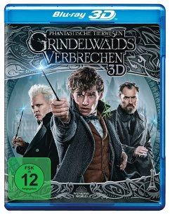 Phantastische Tierwesen 2 - Grindelwalds Verbrechen - Kinofassung (Blu-ray 3D) - Eddie Redmayne,Katherine Waterston,Dan Fogler