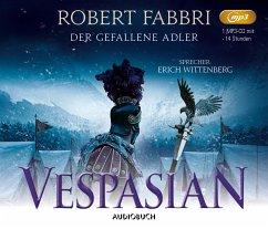 Der gefallene Adler / Vespasian Bd.4 (1 MP3-CD) - Fabbri, Robert