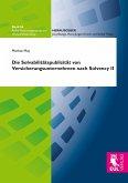 Die Solvabilitätspublizität von Versicherungsunternehmen nach Solvency II