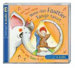 Wenn das Faultier Tango tanzt. Lieder vom Sams & Co., 1 Audio-CD (Mängelexemplar) - Maar, Paul
