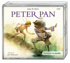 Peter Pan, 4 Audio-CDs (Mängelexemplar)