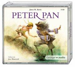 Peter Pan, 4 Audio-CDs (Mängelexemplar)