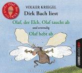 Olaf, der Elch, Olaf taucht ab, Olaf hebt ab, 3 Audio-CDs