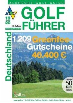 Albrecht Golf Führer Deutschland 19/20 inklusive Gutscheinbuch - Albrecht, Oliver