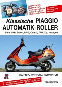 Klassische Piaggio Automatik-Roller - Schneider, Hans J.