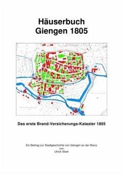 Häuserbuch Giengen 1805