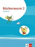 Bücherwurm Lesebuch 2. Schülerbuch mit Überhangfolie Klasse 2