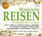 Historische Reisen - rund um den Globus, 2 MP3-CDs