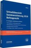 Schnellübersicht Sozialversicherung 2019 Beitragsrecht