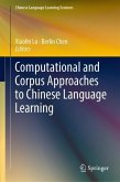 Computational and Corpus Approaches to Chinese Language Learning