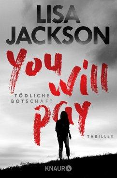 You will pay - Tödliche Botschaft - Jackson, Lisa