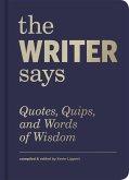 The Writer Says (eBook, ePUB)