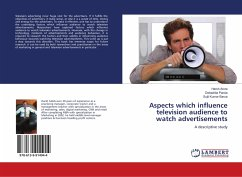 Aspects which influence television audience to watch advertisements
