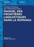 Manuel des frontières linguistiques dans la Romania (eBook, ePUB)