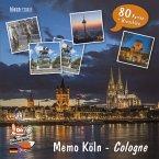 FindeFuxx Memo Köln, m. 1 Buch