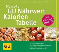 Die große GU Nährwert-Kalorien-Tabelle 2018/19 (Mängelexemplar) - Elmadfa, Ibrahim; Muskat, Erich; Fritzsche, Doris