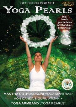 Yoga Pearls Geschenk Box: Mantra Cd+Yoga Armband - Canda & Guru Atman