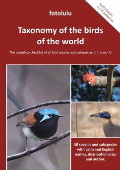 Taxonomy of the birds of the world - fotolulu
