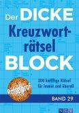 Der dicke Kreuzworträtsel-Block Band 29