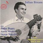 Julian Bream At Aldeburgh Festival,1958-1959