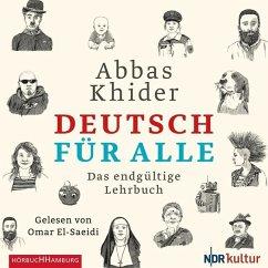 Deutsch für alle, 2 Audio-CDs - Khider, Abbas