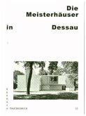 Bauhaus Taschenbuch Nr. 10. Meisterhäuser in Dessau