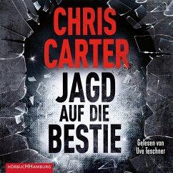 Jagd auf die Bestie / Detective Robert Hunter Bd.10 (2 Audio-CDs, MP3 Format) - Carter, Chris