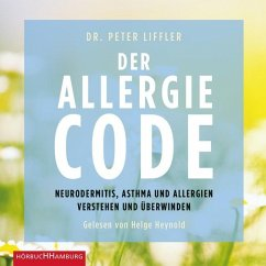 Der Allergie-Code, 2 Audio-CDs, MP3 Format - Liffler, Peter