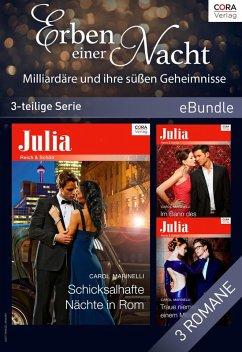 Erben einer Nacht - Milliardäre und ihre süßen Geheimnisse (3-teilige Serie) (eBook, ePUB) - Marinelli, Carol