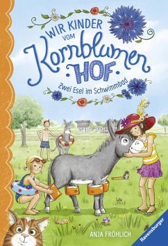 Zwei Esel im Schwimmbad / Wir Kinder vom Kornblumenhof Bd.2 (eBook, ePUB) - Froehlich, Anja