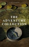 The Adventure Collection: Treasure Island, The Jungle Book, Gulliver's Travels, White Fang, The Merry Adventures of Robin Hood (A to Z Classics) (eBook, ePUB)