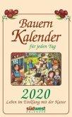Bauernkalender für jeden Tag 2020 Tagesabreißkalender
