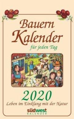 Bauernkalender für jeden Tag 2020 Tagesabreißkalender - Muffler-Röhrl, Michaela