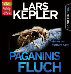 Paganinis Fluch, 1 Audio-CD, MP3 Format - Kepler, Lars