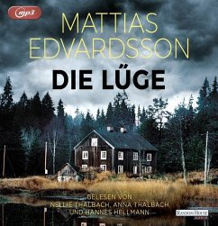 Die Lüge, 2 MP3-CDs - Edvardsson, Mattias