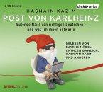 Post von Karlheinz, 2 Audio-CDs