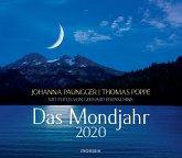 Das Mondjahr 2020. Wandkalender