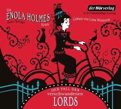 Enola Holmes, 4 Audio-CDs - Springer, Nancy