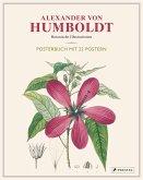 Alexander von Humboldt: Botanische Illustrationen. Posterbuch mit 22 Postern