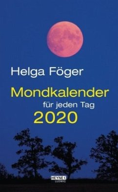 Mondkalender für jeden Tag 2020 Abreißkalender - Föger, Helga