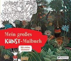 Mein großes Kunst-Malbuch - Roeder, Annette