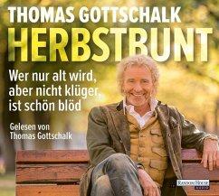 Herbstbunt, 4 Audio-CDs - Gottschalk, Thomas