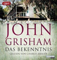 Das Bekenntnis, 2 MP3-CD - Grisham, John