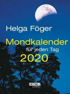 Mondkalender für jeden Tag 2020 Taschenkalender - Föger, Helga