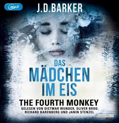 Das Mädchen im Eis / The Fourth Monkey Bd.2 (2 MP3-CDs) - Barker, J. D.