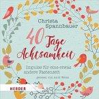 40 Tage Achtsamkeit, 2 Audio-CDs