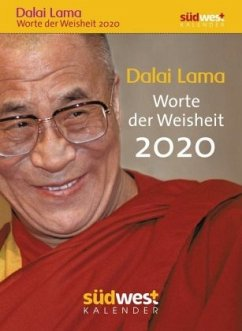 Dalai Lama - Worte der Weisheit 2020 Tagesabreißkalender
